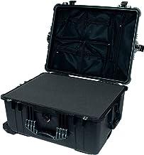 Pelican 1620 Black Case - with Pluck Foam & Mesh Lid Organizer