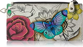 Women's Genuine Leather Organizer Wallet | Five Credit Card Holders