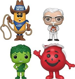 Funko Pop! - AD Icons - Twinkie The Kid, Colonel Sanders, Green Giant, Kool-Aid Man