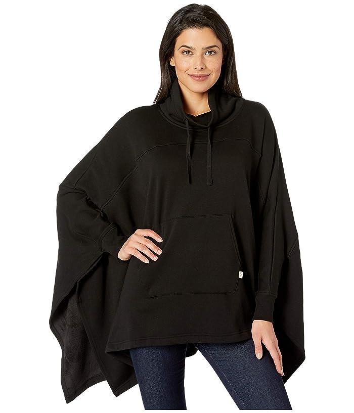 UGG  Charlynne Poncho (Black) Womens Clothing