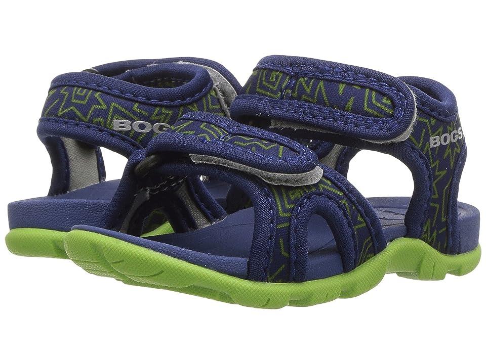 Bogs Kids Whitefish 80s (Toddler) (Dark Blue Multi) Boys Shoes