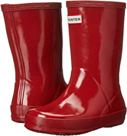 Hunter Kids - Original Kids' First Classic Gloss Rain Boot (Toddler)