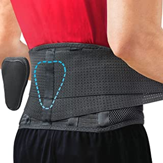 Back Brace by Sparthos - Immediate Relief for Back Pain Herniated Disc Sciatica Scoliosis and more! ? Breathable Mesh Desi...