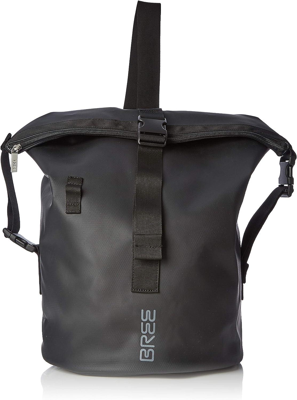 BREE Collection Punch 724, Black, Cross Kit Bag, Unisex Adults' TopHandle 30x50x30 cm (B x H T)