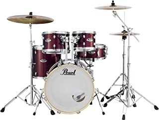 Pearl Export 5-pc. Drum Set w/830-Series Hardware Pack (cymbals not included), BURGUNDY (EXX705N/C760)