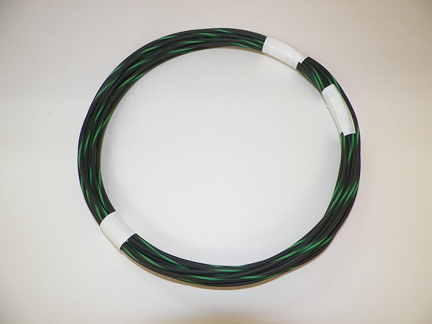 10 STRIPED color wiring options GREEN hi temp automotive 16 gauge GXL wire