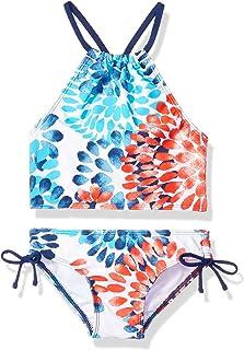 0af5fcbcae3bd Kanu Surf Girls  Daisy Beach Sport Halter Tankini 2-Piece Swimsuit