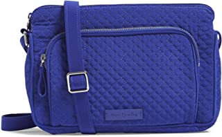 Vera Bradley Women's Microfiber RFID Little Hipster Crossbody Purse
