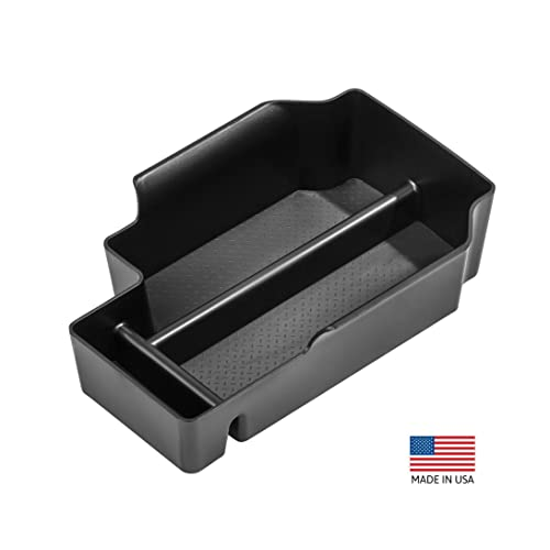 Full Center Console Only EVTIME for 2019 Chevy Silverado 1500 Accessories GMC Sierra 1500 Center Console Organizer Tray Also for 2020 Chevy Silverado//GMC Sierra 1500//2500 HD//3500 HD
