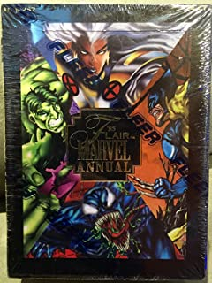 1995 Flair Marvel Annual Trading Cards Box of 24 Packs