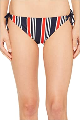 Tommy Hilfiger True To Red, White & Blue String Bikini Bottom