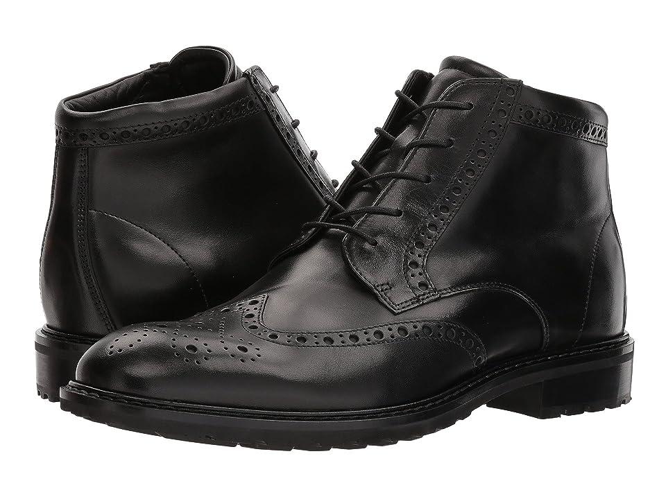 ECCO Vitrus I Wingtip Boot (Black) Men