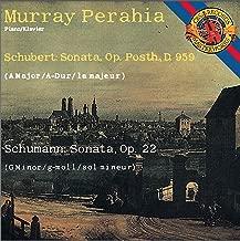 Schubert: Piano Sonata No. 20 in A Major - Schumann: Piano Sonata No. 2 in G Minor