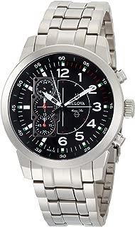 Bulova Men's 96A116 Marine Star Black Dial Watch