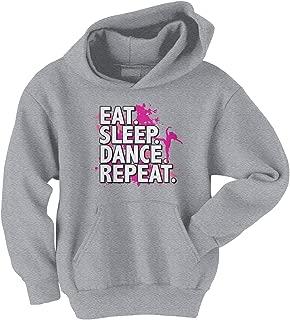 eat sleep dance repeat hoodie