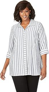 Foxcroft Women's Skye Soft Stripe Tunic