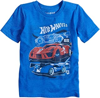 Jumping Beans Boys 4-12 Hot Wheels Graphic Tee