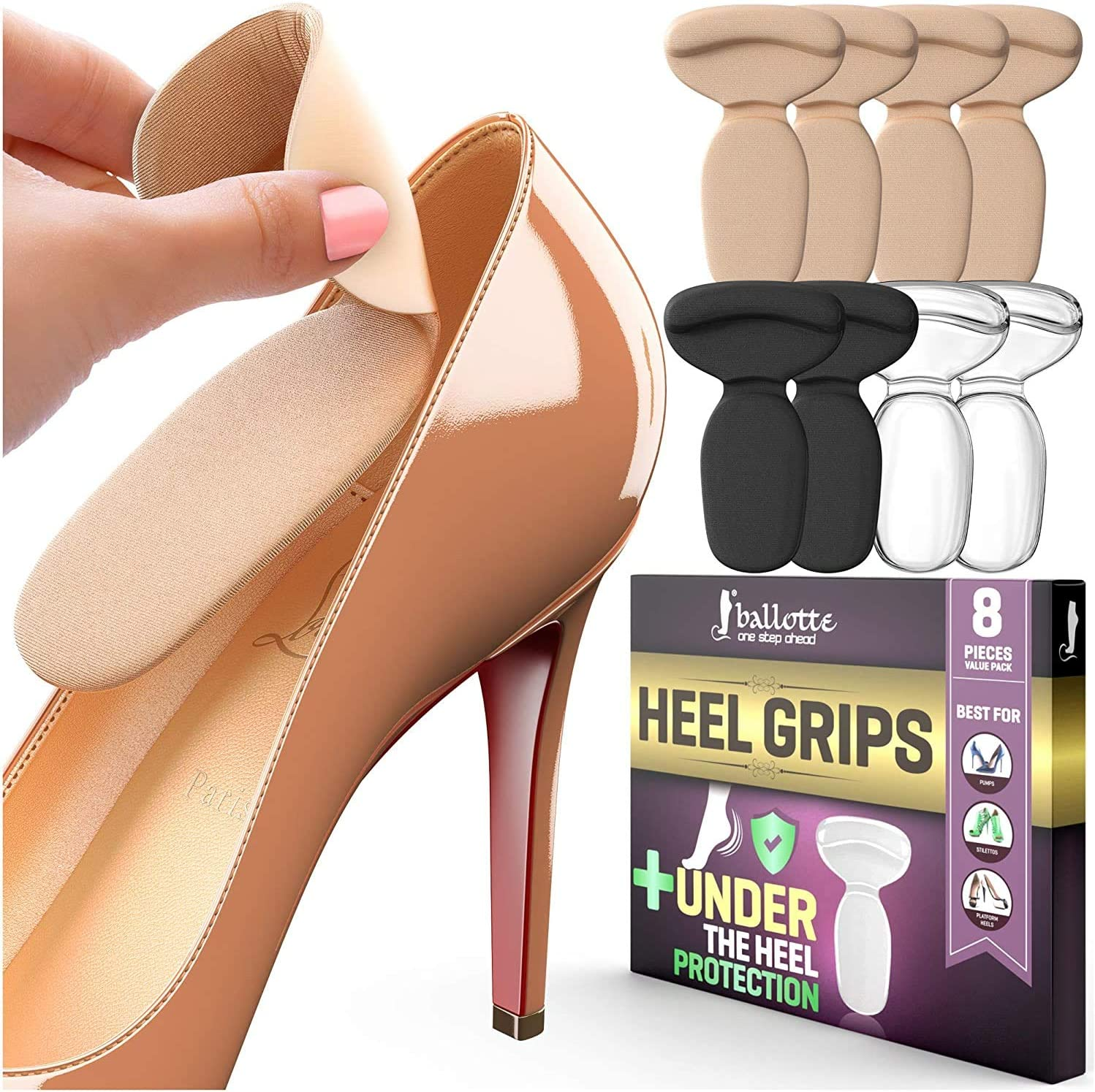 Reusable Heel Inserts for Women Soft and Men Popular brand Extra Protect Max 68% OFF