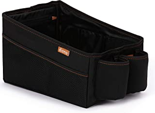 Diono Travel Pal Car Storage, Features a Deep Storage Bin for Toys and Large Items, Black