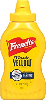 Frenchs Squeeze Mustard, 8 Ounce (Pack of 20)