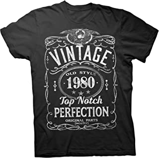 41st Birthday Gift Shirt - Vintage 1980 Top Notch Perfection