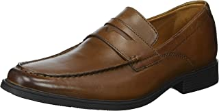 CLARKS Mens Tilden Way Penny Loafer