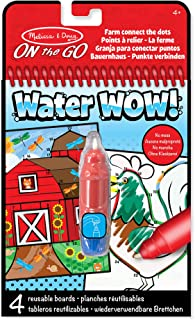 Melissa & Doug 19485 Water Wow-Connect the Dots WaterWow Farm Activity Pad, Multi-colour