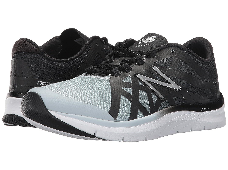 (ニューバランス) New Balance メンズランニングシューズ?スニーカー?靴 811v2 Black/Light Cyclone ブラック/ライト 10.5 (28.5cm) B