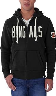 NFL Men's '47 Brand Cross-Check Full Zip Hood
