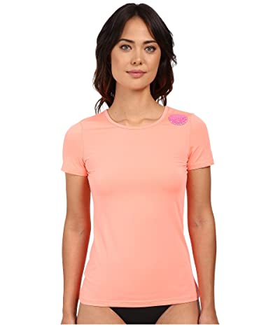 Rip Curl Whitewash Loose Fit Short Sleeve (Coral) Women
