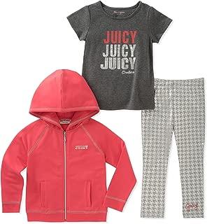 Juicy Couture 女童外套三件套