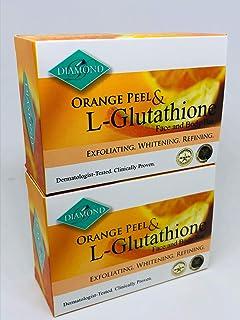 DIAMOND ORANGE PEEL&Glutathione soap/オレンジピール&グルタチオン配合ソープ(美容石けん) 150g×2個 正規輸入品