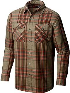 Men's Trekkin Flannel Long Sleeve Moisture-Wicking Shirt
