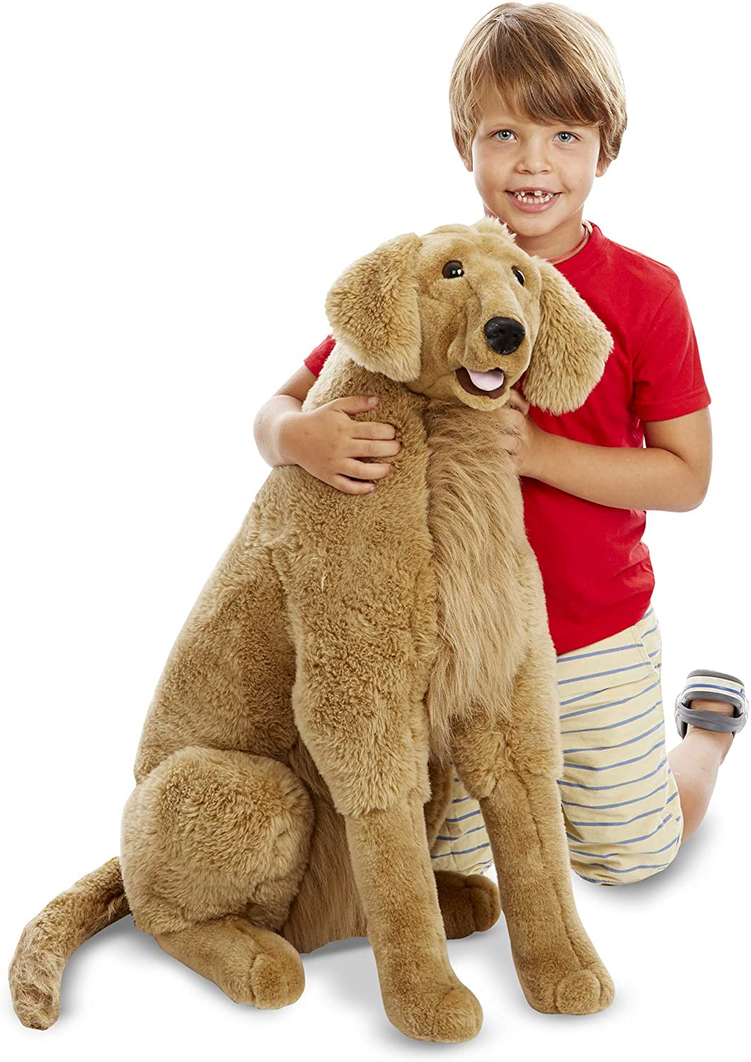 Melissa Doug Giant Special price for a limited time Golden Retriever Animal Wholesale Stuffed - Lifelike