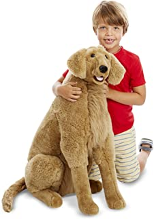 Melissa & Doug Giant Golden Retriever - Lifelike Stuffed Animal Dog (Over 2 Feet Tall, Great Gift for Girls and Boys - Best for 3, 4, 5, and 6 Year Olds)