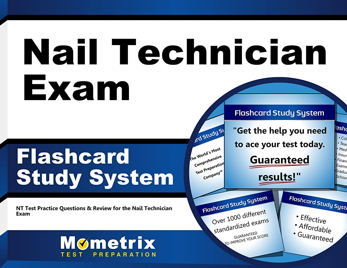 Nail Technician Exam Flashcard Study System: NT Test Practice Questions & Review for the Nail Technician Exam (Cards)