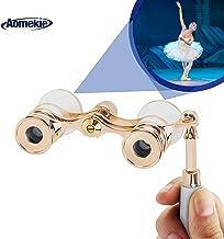 Aomekie Opera Glasses Binoculars 3X25 TheaterGlasses Lorgnette Mini Binocular Compact..