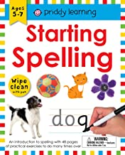 Wipe Clean Workbook: Starting Spelling: An introduction to spelling with 48 pages of practical exercises to do many times over