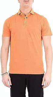 HERITAGE Luxury Fashion Mens 0820PARANCIO Orange Polo Shirt | Season Outlet