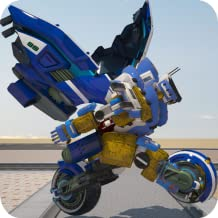 US Police Bike Chase Robot Simulator: Transformers Fighting Games Kill Gangster in Mech Battle Future Robot Championship with Fighting Simulation Adventure Games 2018