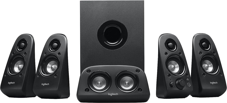 Amazon Com Logitech Z506 Surround Sound Home Theater Speaker System Electronics