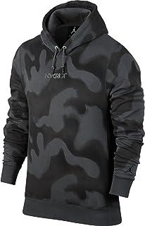 بلوفر رجالي من الصوف بغطاء رأس من Jordan Sportswear أسود 860350-010