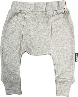 PARADE ORGANICS Harem Pants - Essentials Grey Melange 2T