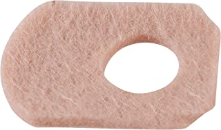 """Steins Adhesive Felt Corn Pads, Corn Protector Cushion, Alleviates Shoe Friction & Pressure, W-7, 1/16"""", 500Count"""