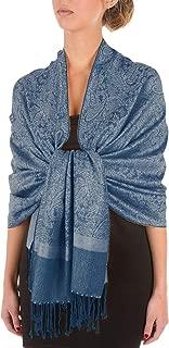 Sakkas Soft Pashmina Feel Paisley Design Schal/Stola