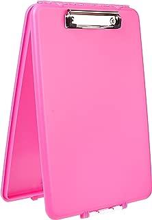 Dexas Slimcase Storage Clipboard, Pink