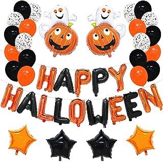 5 x Halloween Metallic Pumpkin Confetti Sprinkles Party