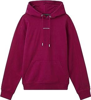 Calvin Klein Jeans Men's Micro Branding Hoodie