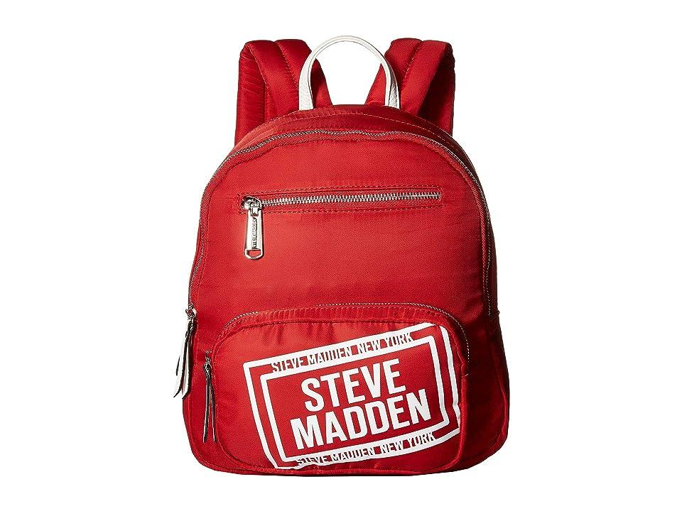Steve Madden Bfraye Backpack (Red) Backpack Bags