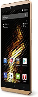 "BLU Vivo XL Smartphone - 5.5"" 4G LTE - GSM Unlocked - Solid Gold"